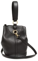 Sam Edelman Renee Leather Bucket Bag - Black
