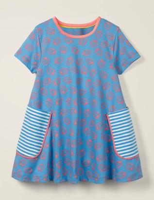 Short-sleeved Printed Tunic