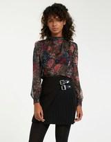 Morgan A Line Mini Skirt
