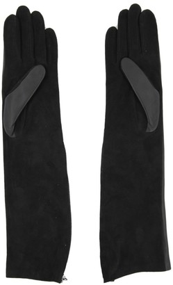 Lanvin Long Silk Gloves