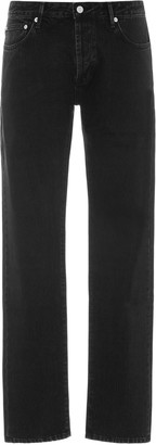 Officine Generale Kurt Low-Rise Slim-Fit Jeans