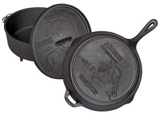 Camp Chef National Parks Cast Iron Set - Black