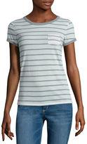 Arizona Short-Sleeve Striped Ringer Tee
