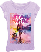 Freeze Lilac Star Wars: The Force Awakens Crystalline Tee - Girls