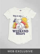 Junk Food Clothing Toddler Boys This Is My Weekend Shirt Tee-sugar-4t