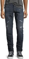 G Star G-Star 3011 Tapered Jeans, Dark Aged Restored