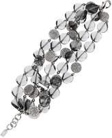 Swarovski Iris Apfel 5 Row Bracelet - Palladium Plating