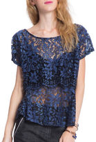 Plenty by Tracy Reese Lace Combo Top