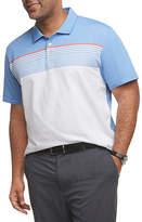 Van Heusen Men'S Striped Polo Mens Short Sleeve Polo Shirt Big and Tall