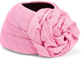Gucci Knotted Silk And Wool-blend Turban - Pink