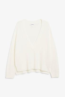 Monki Varsity sweater