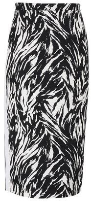N°21 Printed midi-skirt