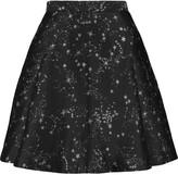 Markus Lupfer Shelly metallic jacquard mini skirt