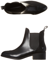 Windsor Smith Womens Leather Grinded Boot Black