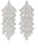 Hueb Secret Garden 18K White Gold and Diamond Earrings
