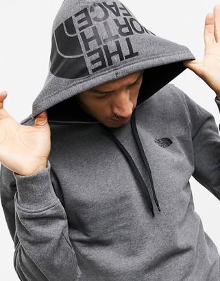 The North Face Seasonal Drew Peak hoodie in gray