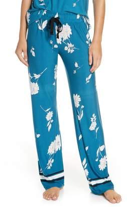 PJ Salvage Flower Print Pajama Pants