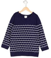 Milly Minis Girls' Striped Rib Knit Sweater w/ Tags