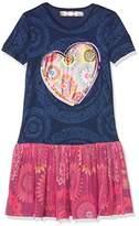 Desigual Girl's VEST_JEFFERSON Dress,(Manufacturer Size: 13/14)