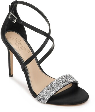 Badgley Mischka Nanna Embellished Sandal