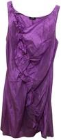 HUGO BOSS Purple Silk Dress for Women