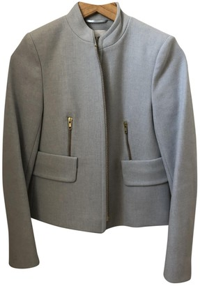 Reiss Blue Wool Jacket for Women