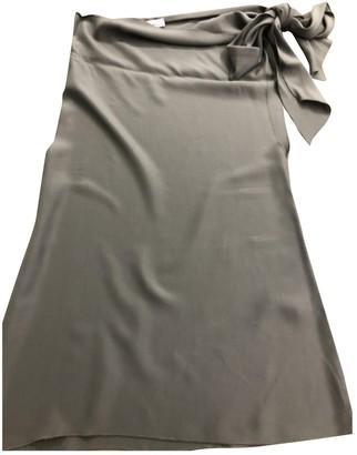 Blumarine Grey Silk Top for Women