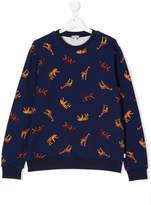 Paul Smith teen Animal print sweatshirt