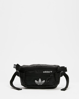 adidas Black Bum Bags - Adventure Waist Bag - Size One Size at The Iconic