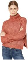 BB Dakota Big Easy Waffle Stitch Turtleneck (Brick House) Women's Sweater