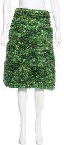 Michael Kors Garden Printed Knee-Length Skirt w/ Tags