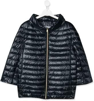 Herno TEEN mock neck down jacket