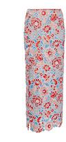 Wes Gordon Millefleur Lace Column Skirt