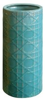 The Well Appointed House Cane Umbrella Stand/Vase in Turquoise-ON BACKORDER UNTIL AUGUST 2016
