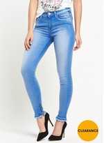 Replay Joi Ankle Zip Skinny Jean
