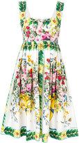 Dolce & Gabbana floral print dress - women - Cotton - 36