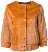 EN ROUTE textured cropped jacket