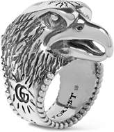 Gucci - Eagle's Head Sterling Silver Ring