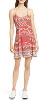 Alice + Olivia Ira Floral Fit & Flare Sundress