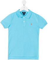 Ralph Lauren embroidered logo polo shirt - kids - Cotton - 2 yrs