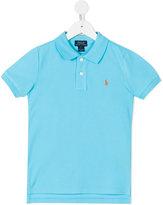 Ralph Lauren embroidered logo polo shirt - kids - Cotton - 5 yrs