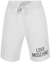 Love Moschino Logo Shorts Grey