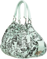 Floral Ruche Top Bag