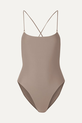 JADE SWIM Tether Swimsuit - Beige