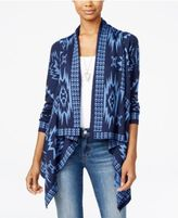 Oh!MG Juniors' Southwest Asymmetrical-Hem Cardigan