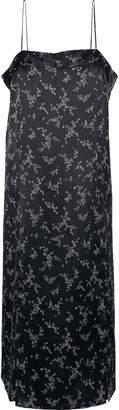 Equipment Kelby Printed Silk-satin Slip Dress