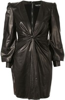 Tom Ford twisted detail mini dress