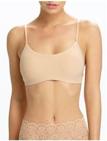 "Commando Double Take"" Lace Racerback Bra - True Nude-Small/Medium"