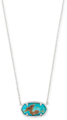 Kendra Scott Elisa Sterling Silver Pendant Necklace