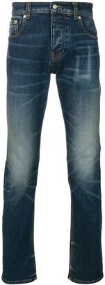 Ami Slim Fit 5 Pockets Jeans
